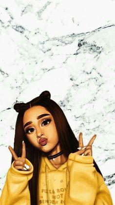 Cute Wallpapers For Girls Ariana Grande Ariana Grande Fotos, Ariana Grande Anime, Ariana Grande Drawings, Ariana Grande Tumblr, Ariana Grande Pictures, Ariana Grande Background, Ariana Grande Wallpaper, Girly M, Adriana Grande