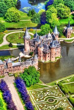 De Haar Castle, Utrecht, Netherlands
