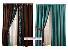 Zoya Curtain Set