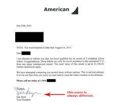 BBB Investigation: Did you really qualify for an award of two roundtrip airline tickets valued at $1,198.00? Kind of... BBB went undercover: http://bbb.org/h/7p
