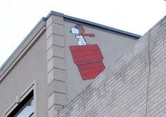 Peanuts Street Art