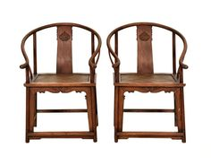 A PAIR OF HUANGHUALI HORSESHOE BACK ARM CHAIRS, QUANYI