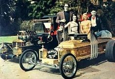 Family Cars - Munster Coach & Dragula