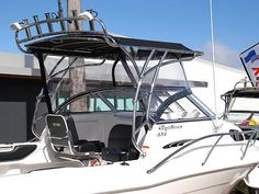 We can custom fabricate a wide range of stainless steel safety rails for your boat.  Safety rails, otherwise known as bow or grab rails are an important safety accessory and provide support for you and your passengers to safely navigate around your boat.  As well as helping to prevent anyone from falling overboard, these rails also add to your boats appearance if installed properly.  No matter what rail style, size, diameter or finish you are after, we can help. Stainless Steel Fabrication, Boat Safety, Boats, Range, Style, Swag, Cookers, Ships, Boat