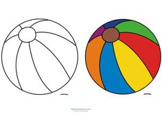 Beach Ball Coloring Page Best Of Match Up Coloring Pages – Beach Ball Kidspressmagazine Super Coloring Pages, Family Coloring Pages, Flag Coloring Pages, Animal Coloring Pages, Printable Coloring Pages, Coloring Pages For Kids, Coloring Books, Kids Coloring, Drawing Lessons For Kids