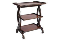 Donovan Side Table, Honey/Black $289 each