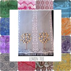 Pair Custom French Door lemon Tree Sheers, 23 1/2 inches wide Lace Curtains, Sidelights, Coloured Lace by HatchedinFrance on Etsy https://www.etsy.com/listing/208249934/pair-custom-french-door-lemon-tree