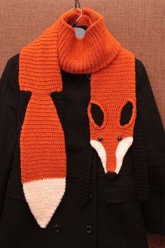 Fox scarf /// Fox sc