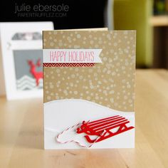 Holiday Fun with Savvy Dies by Julie Ebersole