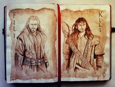 Beautiful artwork of The Hobbit.    At Your Service by Kinko-White.deviantart.com on @deviantART
