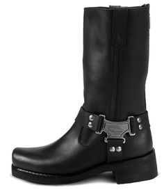 3069dc6029a5 Find the Milwaukee Motorcycle Clothing Co. Mens Classic Harness Boots - at  Dennis Kirk. Shop our complete selection of Harley Motorcycle Goldwing  parts and ...