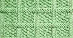 This is another one of the knit and purl textured blocks that has a great optical illusion.It will make beautifully tailored suits, coats or afghan squares and baby blankets.
