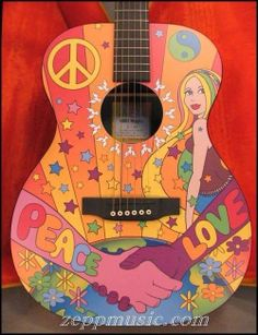 Peace love and rock and roll!