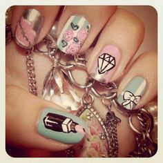 Obsession: Nail design