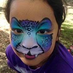 Jenny Saunders Pixie Face Painting