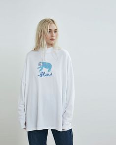Lazy Oaf Slow Sloth T-shirt