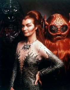 """Catherine Schell, """"Space: 1999""""."""