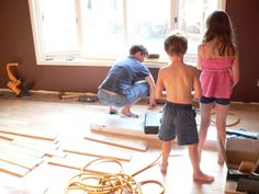 How To DIY with Small Children Around