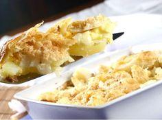 Bacalhau Gratinado - Veja mais em: http://www.cybercook.com.br/receita-de-bacalhau-gratinado.html?codigo=4910