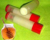 Honey Flavored Lip Balm - Natural Ingredients  1.99 each