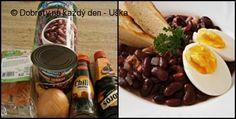 """Recept Fazolový salát""""pikant"""" - Naše Dobroty na každý den Beef, Meat, Steak"""