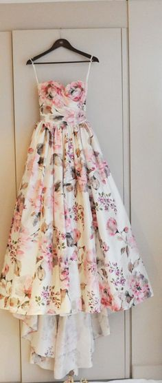 romantic dress.