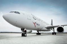 Taca Airlines   A Star Alliance Member  New Aircraft Airbus A330-200