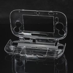 Protective Crystal Hard Case Cover For Wii U Gamepad Transparent. Description :  Protective Crystal Hard Case Cover For Nintendo Wii U Gamepad Transparent  Brand new & high quality. It is made of high quality plastic which is durable for a long term usage; Effectively protect your Nintendo Wii U Gamepad from dirt and scratches; Easy to install & remove : It fits Wii U Gamepad perfectly & all buttons & ports are easily accessing; Ideal accessory for gamers requiring for Wii U Gamepad…