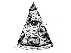 The All Seeing Pizza by Andrew Hoffman