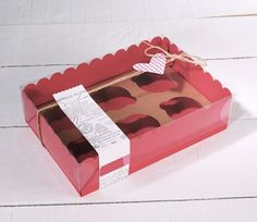 Box for six cupcakes