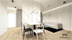 Część dzienna w apartamencie w Warszawie. @wkwadrat @architekttorun Divider, Room, Furniture, Home Decor, Bedroom, Decoration Home, Room Decor, Rooms, Home Furnishings