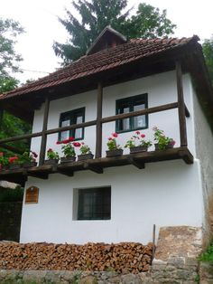 Discover the world through photos. Hungarian Embroidery, Moldova, Central Europe, Romania, Cement, House Plans, Pergola, Sweet Home, Around The Worlds