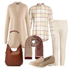 5697dd48aa8c4 Pacata  outfit donna Basic per tutti i giorni   Bantoa