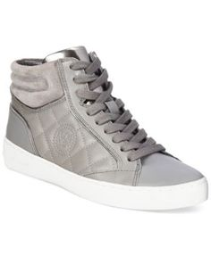 the latest 4e59a 31a34 MICHAEL KORS Michael Michael Kors Paige Quilted High Top Sneakers .  michaelkors…