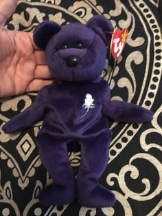 042283dcc70 VERY RARE 1st EDITION ~ PRINCESS Diana 1997 Ty Beanie Baby ~ MINT Condition  !!