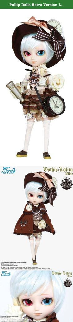 "Pullip Dolls Retro Version Isul Johan 11"" Fashion Doll. Because I want to see you want to find a piece of star, smile sparkling you. ! ..... I supposed there surely in the stone of brilliant colors such situations. Two triple collaboration Mihara Mitsukazu X ALICE and the PIRATES X Pullip / Isul will journey also newly outfit. Introducing Isul · Johann becomes the new color and appeared on the cover of fashion magazine ""Gothic & Lolita Bible Vol.41"". Clothes that have been unified in pale..."