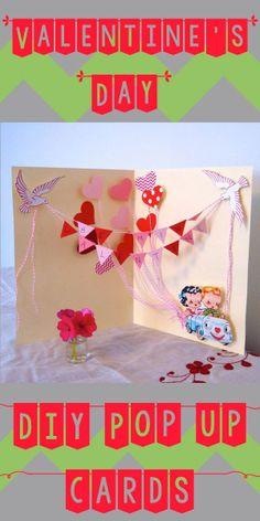 Make Valentine's Day cards that POP! #DIY #ValentinesDay