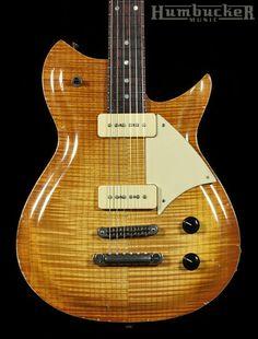 Fano RB6 Guitar in Faded Tea Burst w/ Flamed Maple Top | Humbucker Music
