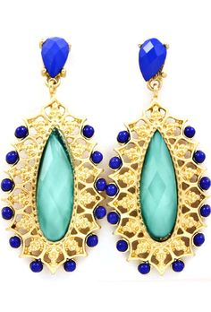 All that glitters does not need to be 18 carat!  Ola Blue Drops
