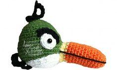 Angry Birds Verde Crochet Amigurumi ~ Patrón gratis en Castellano  y con Video Tutorial