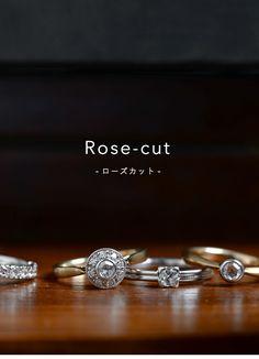 mederu jewelry / 【2016/09】エンゲージローズカット