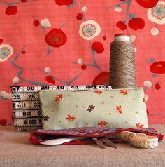 zipper pouch photo idea