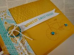 Cycle Celebration stamp set, Jenny Peterson, Stampin' Up! Demonstrator, www.lakeshorestamping.com