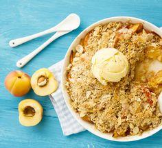 Recipe // Peaches + Lemon + Pecans + Dates + Salt + Cinnamon