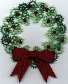 Christmas Wreath by Betsy