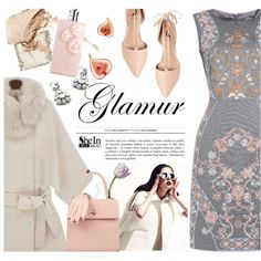 Glamur (glamour) by ansev on Polyvore featuring мода, Ava & Aiden, Charlotte Olympia, Retrò, Burberry, NARS Cosmetics, Valentino and Mark & Graham