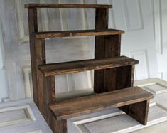 rustic cupcake stand – Etsy