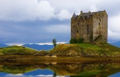 Castle Stalker, Argyll & Bute, Scotland - built in the 1440s by the Stewarts