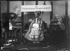Фотосессия императрицы Цы Си. 1903: humus