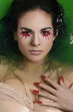 mua: Anna Methea fot. Sandra Sobolewska mod. Tamara  handmade false eyelashes :)